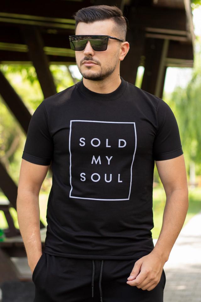 Tricou Soul Negru T081