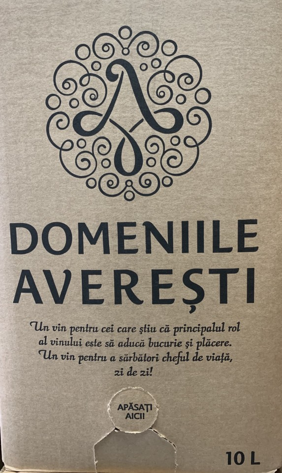 Averesti Bag In Box Cuve Demisec 10l