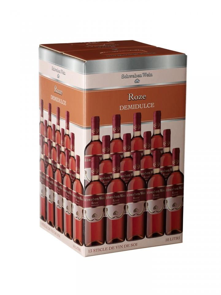 Recas Schwaben Wein Roze Demidulce Bag In Box 10L