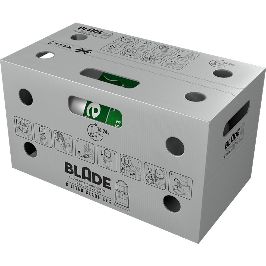 HEINEKEN Blade, Keg 8l, Bax, 1 buc