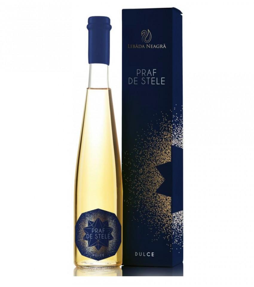 Lebada Neagra Praf De Stele Chardonnay Dulce 375ml