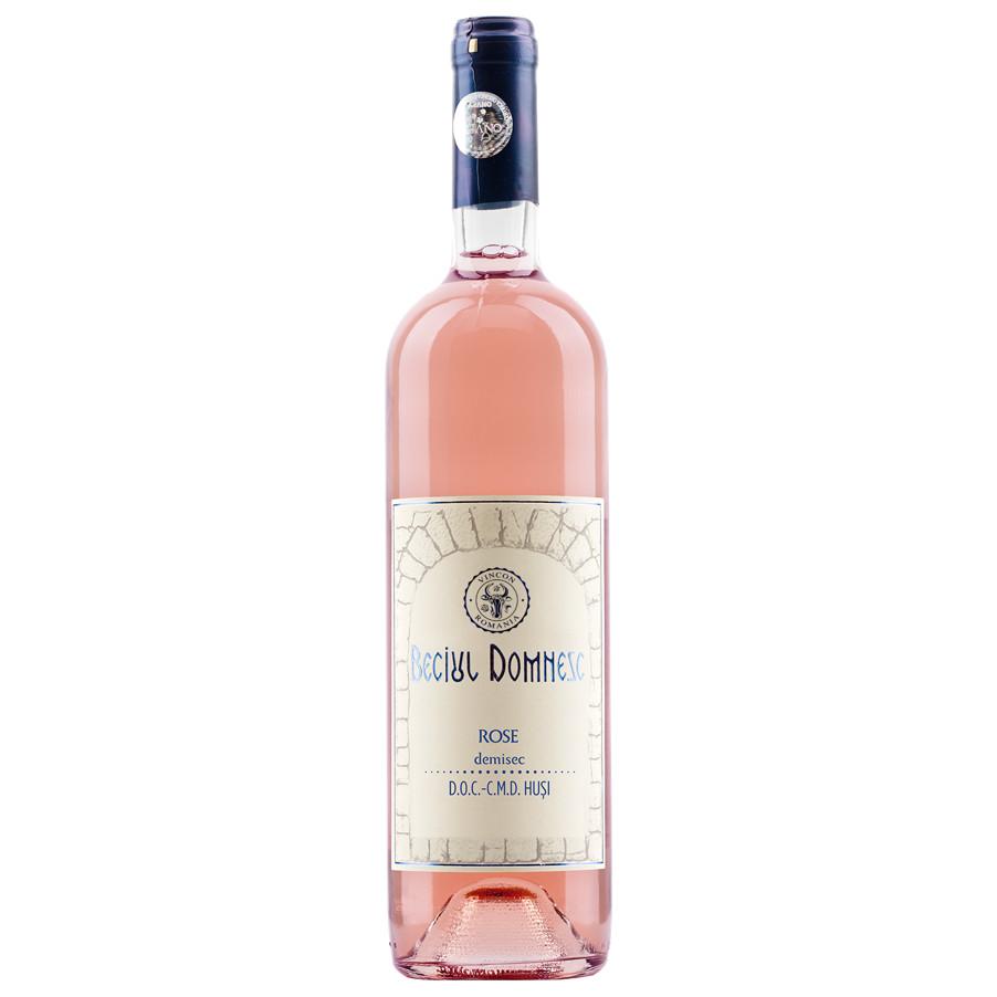 Beciul Domnesc, Rose, Demisec, 13%, 0.75L