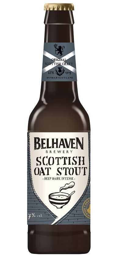Belhaven Scottish Oat Stout 0.33L