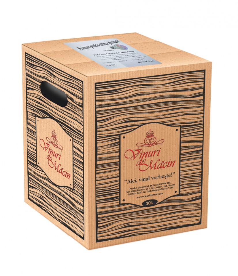 Macin Premiat Merlot Roze Demisec Bag in Box 10L