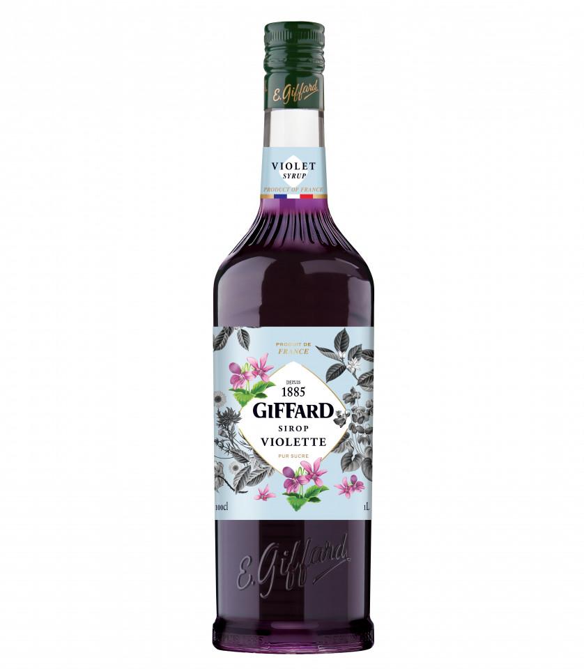 Giffard Sirop Violet 1L