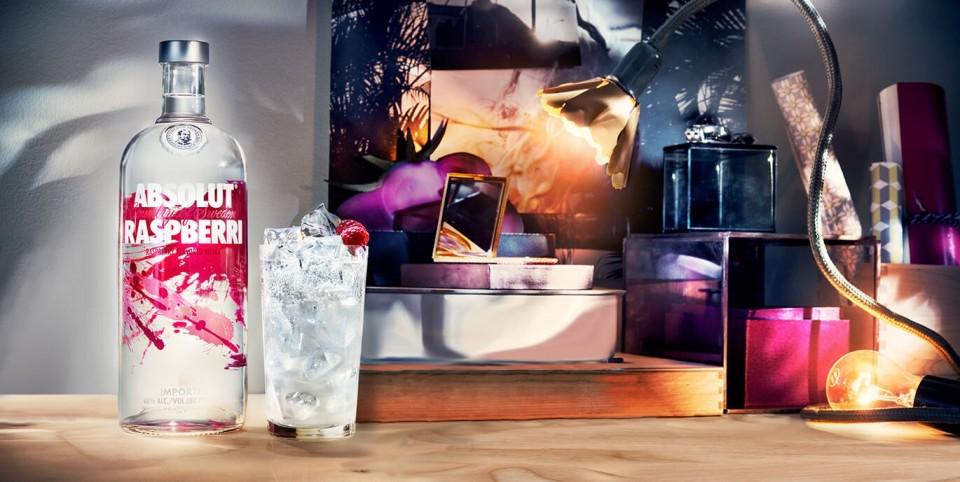 Absolut Vodka Raspberri 0.7L