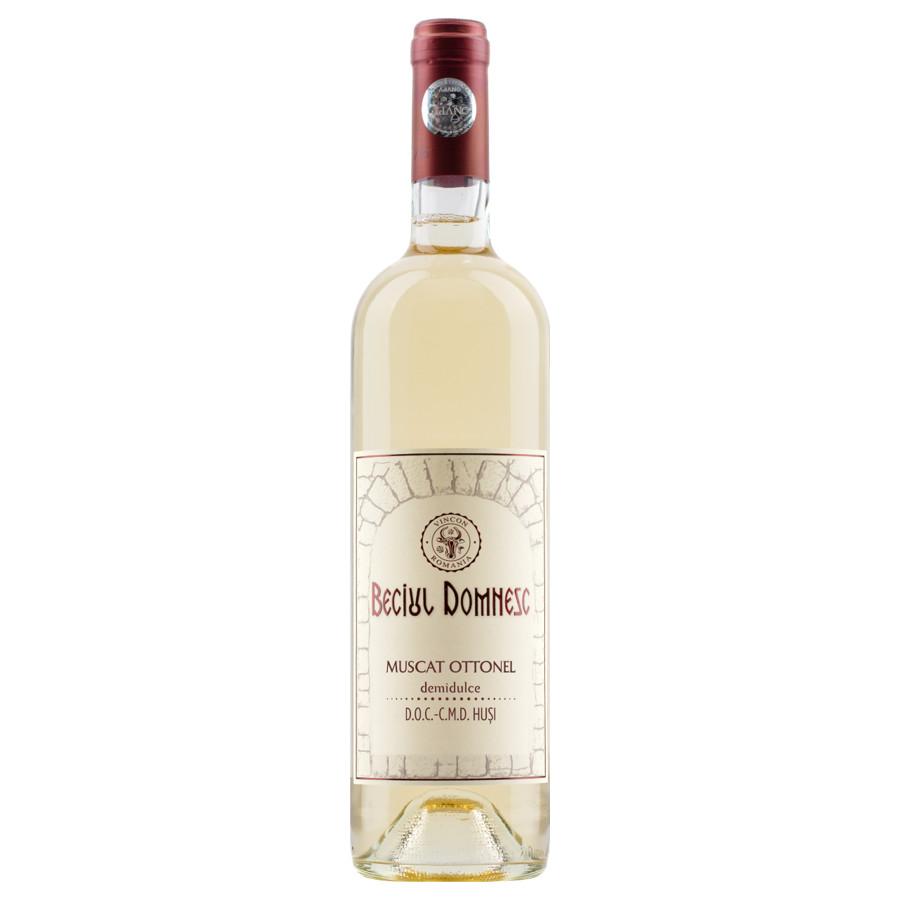 Vincon, Beciul Domnesc, Muscat Ottonel, Demidulce, 12.5%, 0.75L