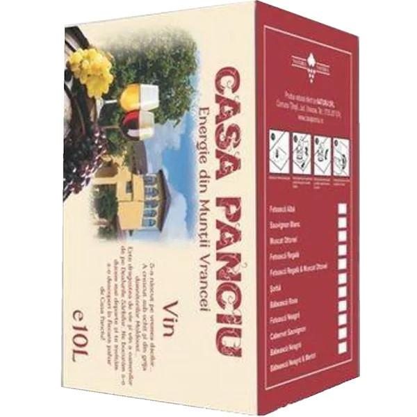 Casa Panciu Babeasca Neagra Rosu Demisec Bag In Box 10L