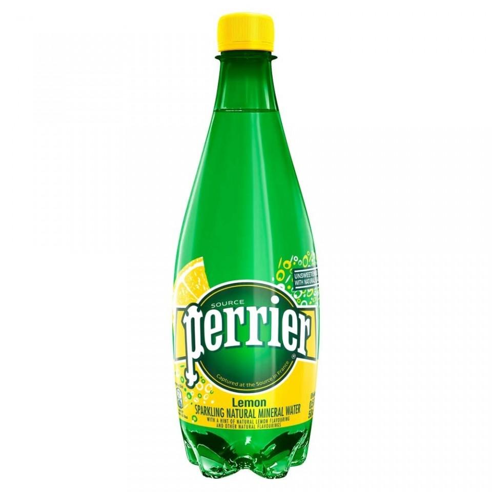 Perrier Apa Minerala Lemon 0.5L