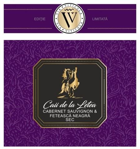 Sarica Niculitel Caii de la Letea Cabernet Sauvignon & Feteasca Neagra Editie Limitata 0.75L