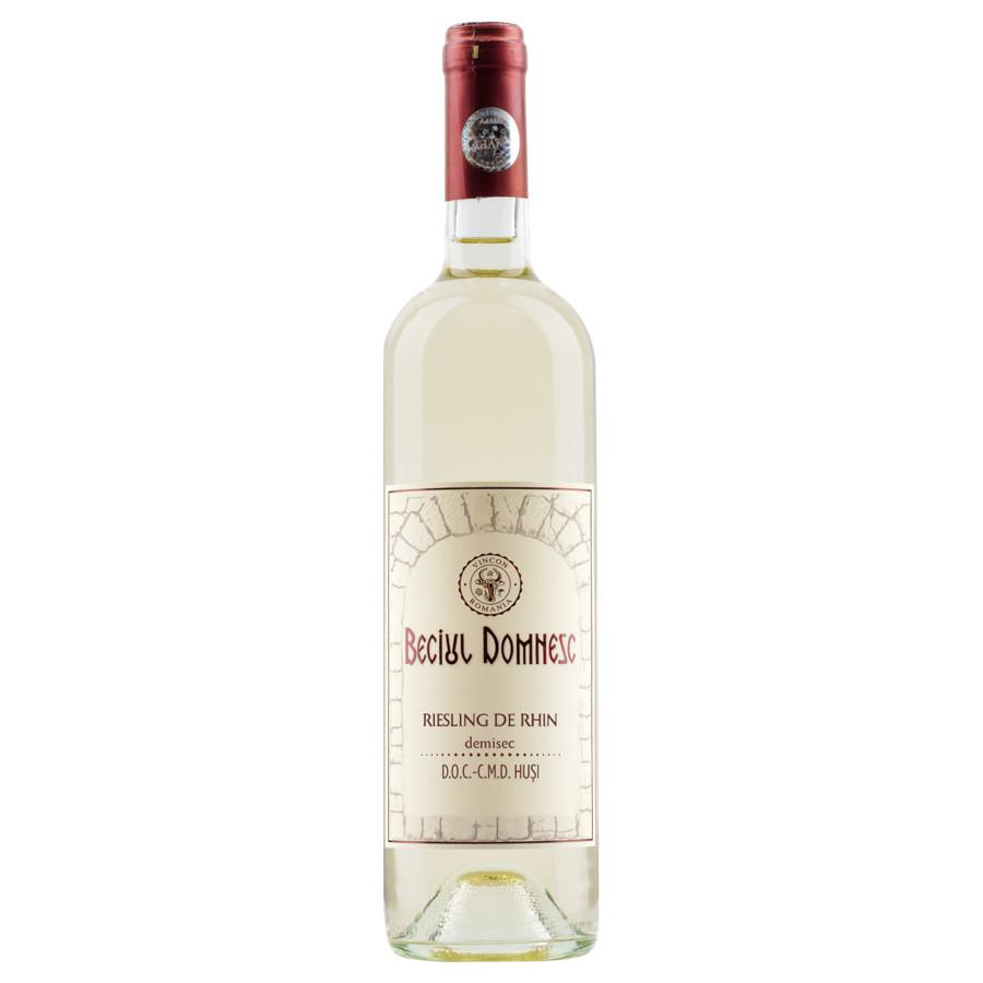 Vincon, Beciul Domnesc, Riesling de Rhin, Demisec, 13.5%, 0.75L