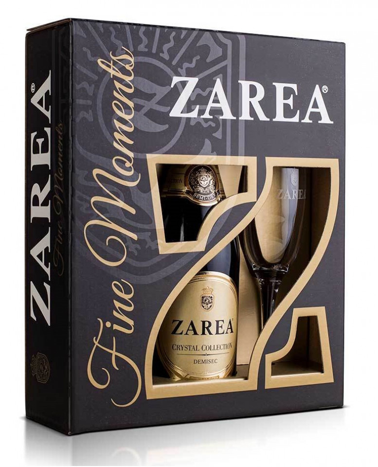 Zarea Fine Moments Crystal Collection Demisec 0.75L