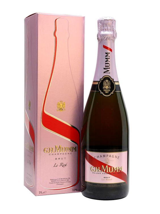 Mumm Cordon Rouge Rose Brut Gift Box 0.75L