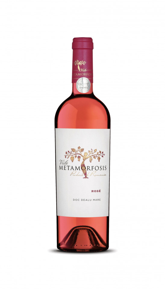 Viile Metamorfosis Rose 2018 0,75L