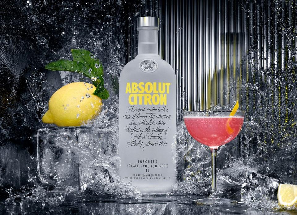 Absolut Vodka Citron 0.7L