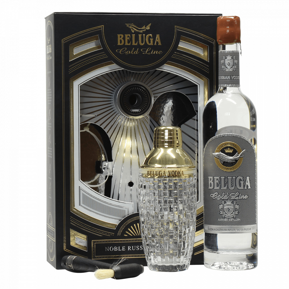Beluga Gold Line Vodka Shaker 0.7L