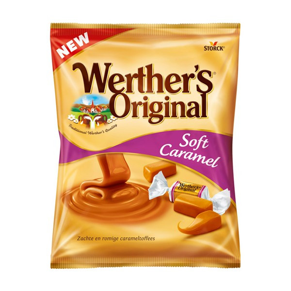 Caramele Werther's Soft Cream 75g