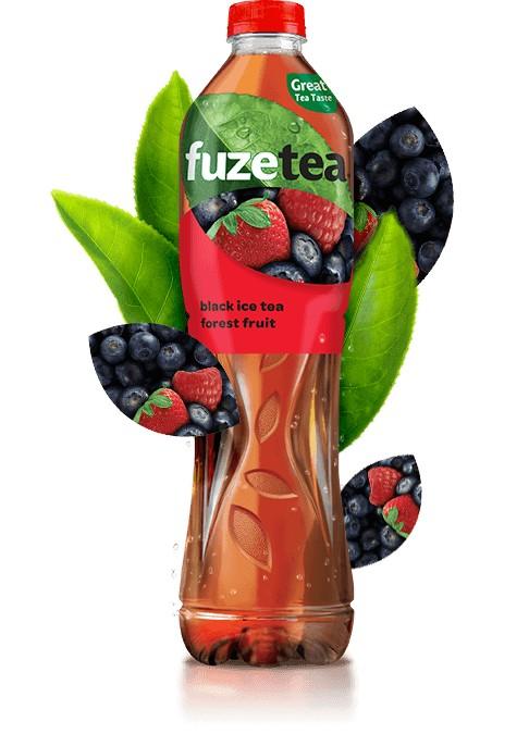 Fuzetea Black Ice Tea Fructe de Padure 1.5 l