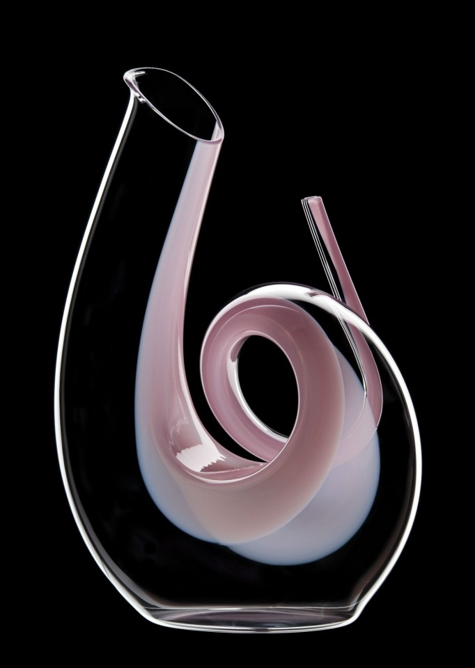 Riedel Decantor Curly Pink 1.4L