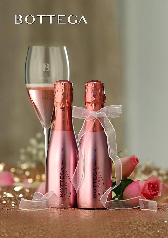 Bottega Rose Gold Spumante 200ml