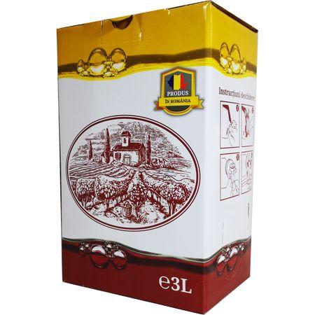 Crama Statiunea Murfatlar Vin Alb Sec Bag In Box 3L