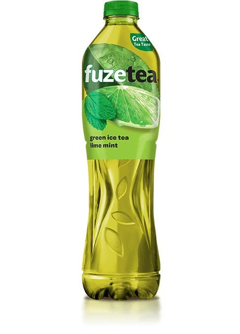 Fuzetea Green Ice Tea Lime si Mint 1.5 l