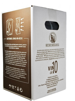 Budureasca Feteasca Neagra Demisec Bag in Box 10L
