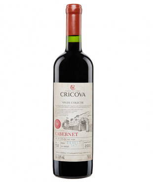 Cricova Vin de Colectie Cabernet Sauvignon 0.75L