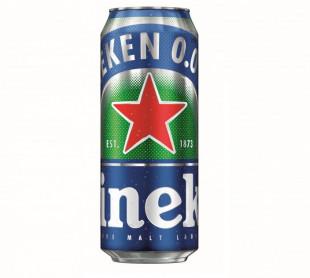 Heineken 0.0%, Doza 0.5L, Bax, 24 buc