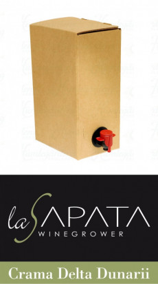 La Sapata Merlot Bag In Box 10l