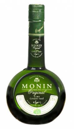 Monin Original Liqueur Lime