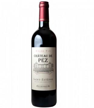 Saint Estephe Chateau de Pez Bordeaux 0.75L + Cutie lemn