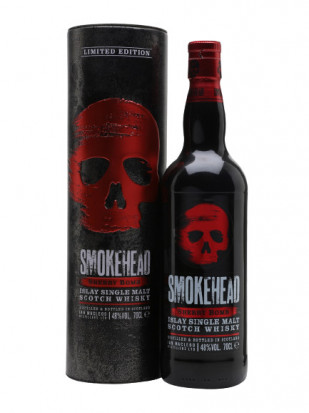 Smokehead Sherry Bomb Islay Single Malt Scotch Whisky 0.7L
