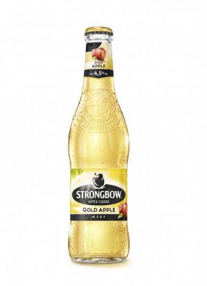 Strongbow Gold, Sticla 0.33L, Bax, 24 buc
