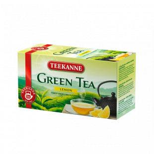 Teekanne Ceai Green Tea Lemon 20X1.75g