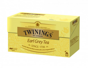 Twinings Ceai Negru Earl Grey 25 x 2g