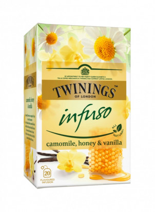 Twinings Infuzie Musetel, Miere & Vanilie 20 x 1,5g