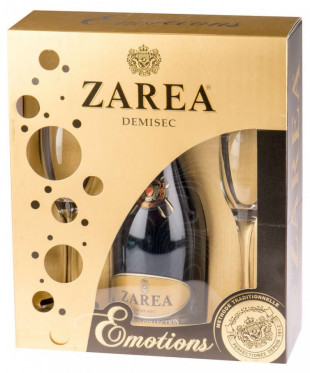 Zarea Diamond Emotion Collection Alb Demisec 0.75L
