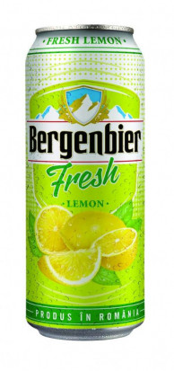 Bergenbier Fresh Lemon Doza 500 ml