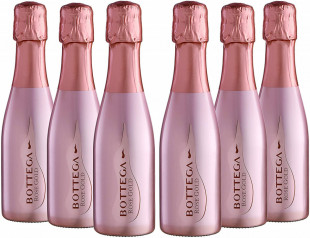 Bottega Rose Gold Spumante 0.2L