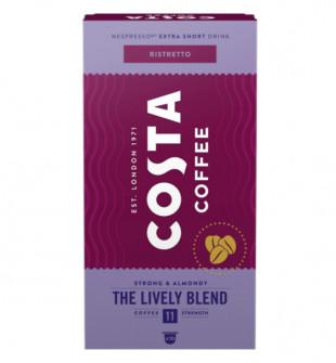 Capsule cafea Costa Lively Blend Ristretto, 10 capsule, 57g