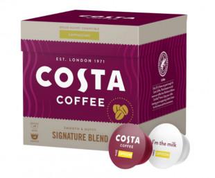 Capsule cafea Costa Signature Blend Cappuccino, 16 capsule, 8 bauturi