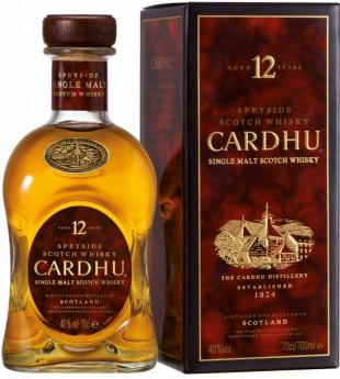 Cardhu Whisky Single Malt 12 YO