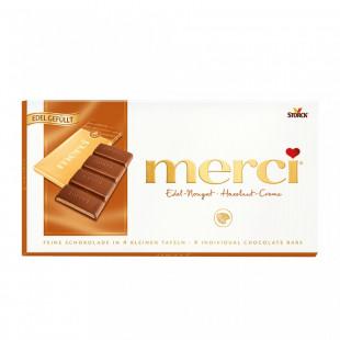 Ciocolata Merci tableta nuga 112g