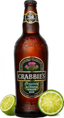 Crabbie's Alcoholic Ginger Beer 0.33L
