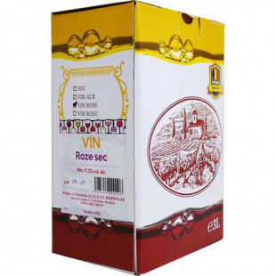 Crama Statiunea Murfatlar Vin Rose Sec Bag In Box 3L