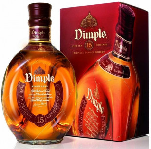 Dimple Blended Scotch Whisky 15 YO