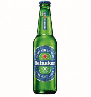 Heineken 0.0%, Sticla 0.33L, Bax, 24 buc