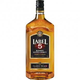 Label 5 Classic Black Scotch Whisky 1.5L