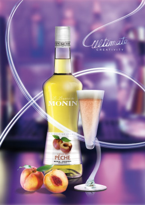 Monin Peach Liqueur